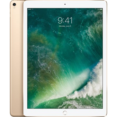 iPad Pro 12.9 Inch Wi Fi Cellular 128GB 1st Gen Gold