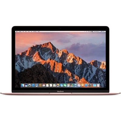 MacBook Core m5 1.2GHz 12 8GB 512GB SSD Rose Gold Early 2016